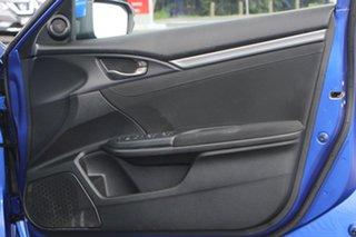 2018 Honda Civic 10th Gen MY18 VTi-S Blue 1 Speed Constant Variable Hatchback