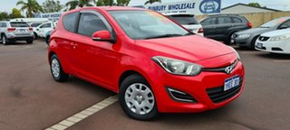 2013 Hyundai i20 PB MY13 Active Red 6 Speed Manual Hatchback