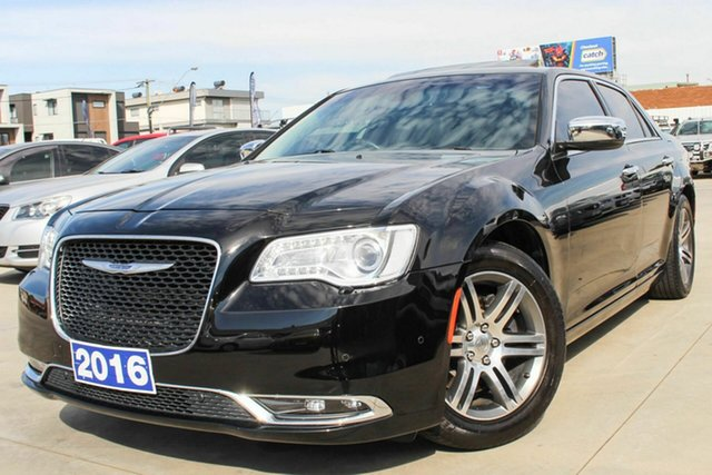Used Chrysler 300 LX MY16 C E-Shift Coburg North, 2016 Chrysler 300 LX MY16 C E-Shift Black 8 Speed Sports Automatic Sedan