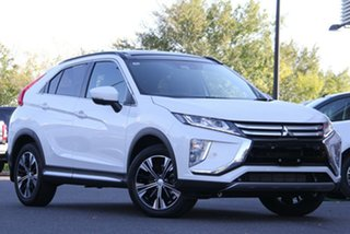 2020 Mitsubishi Eclipse Cross YA MY20 Exceed 2WD White 8 Speed Constant Variable Wagon.