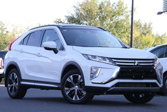 Used Mitsubishi Eclipse Cross YA MY20 Exceed 2WD Essendon North, 2020 Mitsubishi Eclipse Cross YA MY20 Exceed 2WD White 8 Speed Constant Variable Wagon