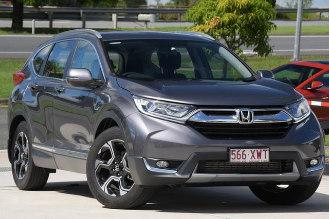 Used Honda CR-V RW MY18 VTi-S FWD North Lakes, 2017 Honda CR-V RW MY18 VTi-S FWD Grey 1 Speed Constant Variable Wagon