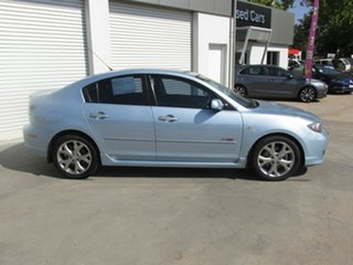 2007 Mazda 3 BK1032 SP23 Blue 5 Speed Sports Automatic Sedan.