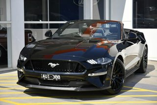 2018 Ford Mustang FN 2018MY GT SelectShift Black 10 Speed Sports Automatic Convertible