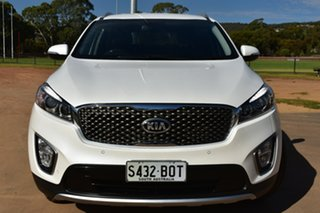 2016 Kia Sorento UM MY17 SLi White 6 Speed Sports Automatic Wagon