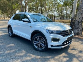 2021 Volkswagen T-ROC A1 MY21 140TSI DSG 4MOTION Sport Pure White 7 Speed.
