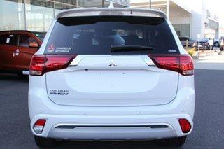 2018 Mitsubishi Outlander ZL MY19 PHEV AWD ES White 1 Speed Automatic Wagon Hybrid