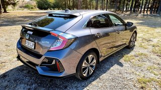2020 Honda Civic 10th Gen MY20 VTi-L Modern Steel 1 Speed Automatic Hatchback