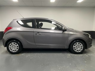 2013 Hyundai i20 PB MY13 Active Grey 6 Speed Manual Hatchback