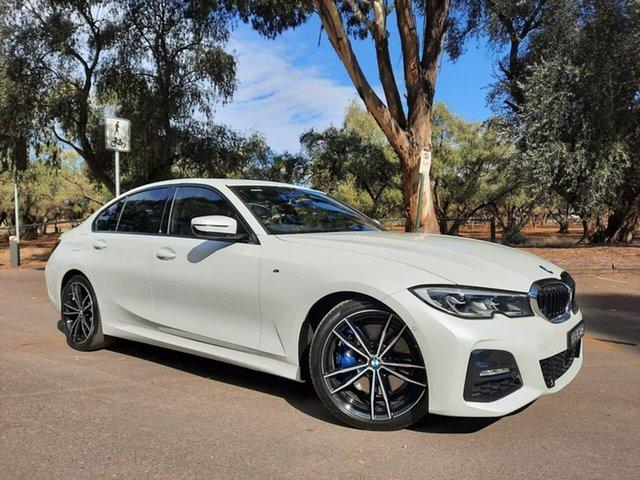 Used BMW 3 Series G20 330i Steptronic M Sport Adelaide, 2019 BMW 3 Series G20 330i Steptronic M Sport White 8 Speed Sports Automatic Sedan