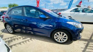 2013 Hyundai i30 GD Active Blue 6 Speed Sports Automatic Hatchback.