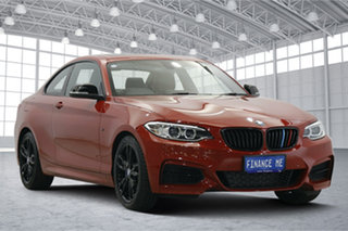 2016 BMW 2 Series F22 M235I Red 8 Speed Sports Automatic Coupe.