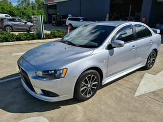2014 Mitsubishi Lancer CJ MY15 ES Sport Silver 6 Speed Constant Variable Sedan