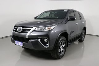 2019 Toyota Fortuner GUN156R MY19 GXL Graphite 6 Speed Automatic Wagon.