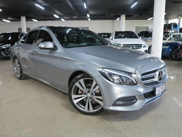 Used Mercedes-Benz C-Class W205 806MY C200 7G-Tronic + Albion, 2015 Mercedes-Benz C-Class W205 806MY C200 7G-Tronic + Silver 7 Speed Sports Automatic Sedan