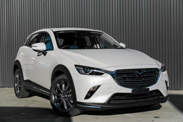 New Mazda CX-3 Mornington, 2021 Mazda CX-3 CX-3 F 6AUTO AKARI LE PETROL FWD Snowflake White Pearl Wagon