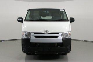 2018 Toyota HiAce KDH201R MY16 LWB White 4 Speed Automatic Van.