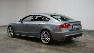 2015 Audi A5 8T MY16 Sportback S Tronic Quattro Grey 7 Speed Sports Automatic Dual Clutch Hatchback.
