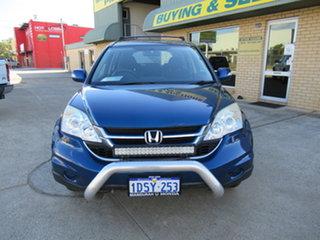 2011 Honda CR-V RE Blue 6 Speed Manual Sedan.