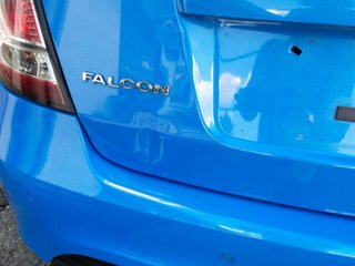 2008 Ford Falcon FG XR8 Blue 6 Speed Sports Automatic Sedan