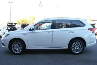 2018 Mitsubishi Outlander ZL MY19 PHEV AWD ES White 1 Speed Automatic Wagon Hybrid