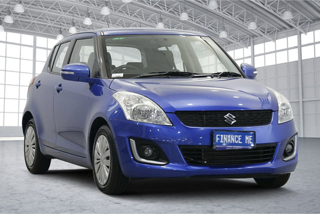 Used Suzuki Swift FZ MY14 GL Navigator Victoria Park, 2014 Suzuki Swift FZ MY14 GL Navigator Blue 4 Speed Automatic Hatchback