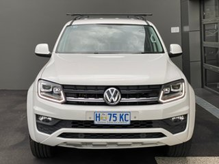 2017 Volkswagen Amarok 2H MY18 TDI420 4MOTION Perm Core White 8 Speed Automatic Utility.