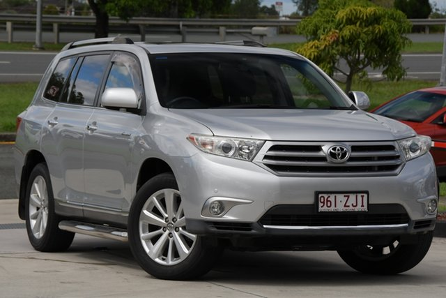 Used Toyota Kluger GSU40R MY12 Grande 2WD North Lakes, 2013 Toyota Kluger GSU40R MY12 Grande 2WD Silver 5 Speed Sports Automatic Wagon
