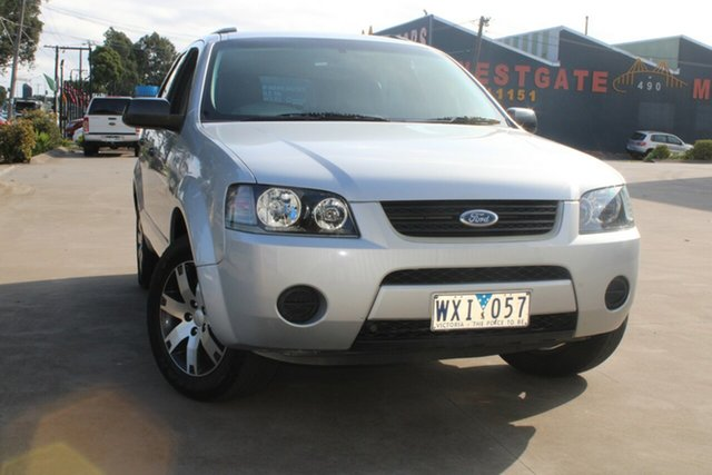 Used Ford Territory SY SR (4x4) West Footscray, 2008 Ford Territory SY SR (4x4) 6 Speed Auto Seq Sportshift Wagon