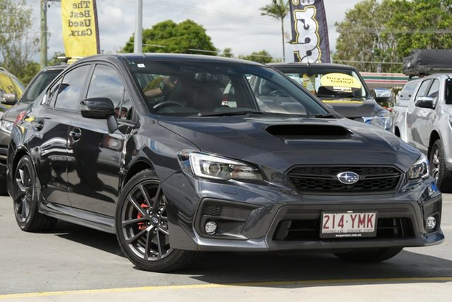 Used Subaru WRX V1 MY19 Premium Lineartronic AWD Aspley, 2018 Subaru WRX V1 MY19 Premium Lineartronic AWD Grey 8 Speed Constant Variable Sedan