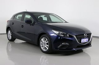 2014 Mazda 3 BM Maxx Blue 6 Speed Automatic Hatchback.