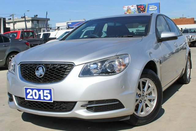 Used Holden Commodore VF II MY16 Evoke Coburg North, 2015 Holden Commodore VF II MY16 Evoke Silver 6 Speed Sports Automatic Sedan