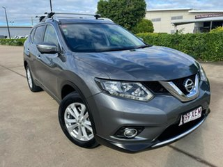 2017 Nissan X-Trail T32 ST-L X-tronic 2WD Grey/110417 7 Speed Constant Variable Wagon.
