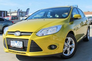 2012 Ford Focus LW Trend PwrShift Gold 6 Speed Sports Automatic Dual Clutch Hatchback.