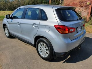 2012 Mitsubishi ASX XB Silver Constant Variable Wagon