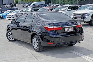 2017 Toyota Corolla ZRE172R Ascent S-CVT Black 7 Speed Constant Variable Sedan.