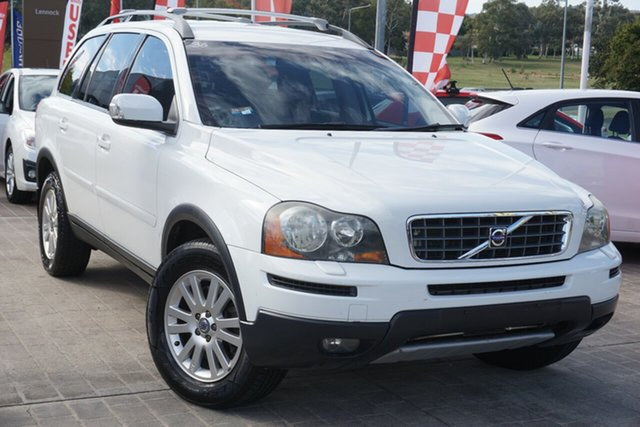 Used Volvo XC90 P28 MY09 D5 Phillip, 2009 Volvo XC90 P28 MY09 D5 White 6 Speed Sports Automatic Wagon