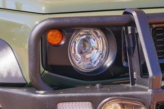 2019 Suzuki Jimny JB74 Green 5 Speed Manual Hardtop.