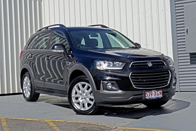 Used Holden Captiva CG MY17 Active 2WD Springwood, 2017 Holden Captiva CG MY17 Active 2WD Black 6 Speed Sports Automatic Wagon