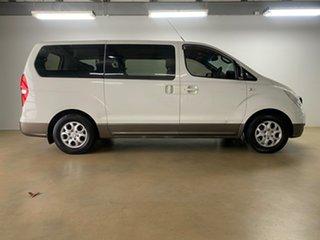 2009 Hyundai iMAX TQ White 4 Speed Automatic Wagon.