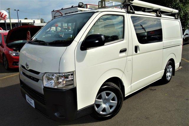 Used Toyota HiAce KDH201R MY14 LWB Seaford, 2014 Toyota HiAce KDH201R MY14 LWB White 4 Speed Automatic Van