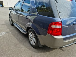 2008 Ford Territory SY TX Blue 4 Speed Sports Automatic Wagon