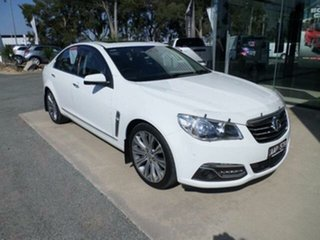 2014 Holden Calais VF V White 6 Speed Automatic Sedan