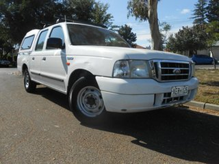 2004 Ford Courier PG GL Crew Cab 4x2 5 Speed Manual Utility.