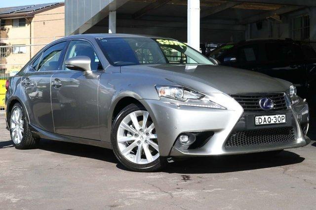Used Lexus IS AVE30R IS300h Luxury Waitara, 2015 Lexus IS AVE30R IS300h Luxury Silver 1 Speed Constant Variable Sedan Hybrid