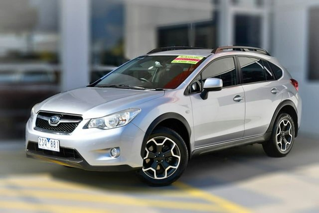 Used Subaru XV G4X MY13 2.0i Lineartronic AWD Berwick, 2013 Subaru XV G4X MY13 2.0i Lineartronic AWD Silver 6 Speed Constant Variable Wagon