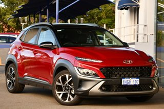 2020 Hyundai Kona Os.v4 MY21 Highlander TTR (FWD) Pulse Red, Mica/Metallic Premi Continuous Variable.