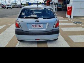 2007 Kia Rio JB LX Silver 4 Speed Automatic Hatchback.