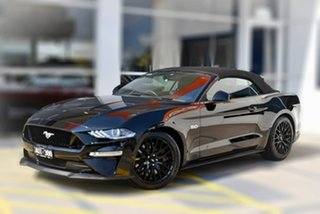 2018 Ford Mustang FN 2018MY GT SelectShift Black 10 Speed Sports Automatic Convertible.