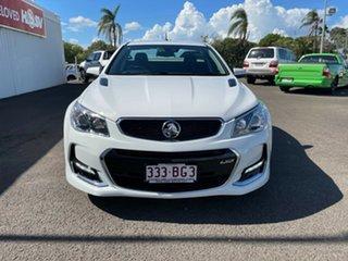 2016 Holden Ute VF II MY16 SS V Ute Redline White 6 Speed Sports Automatic Utility